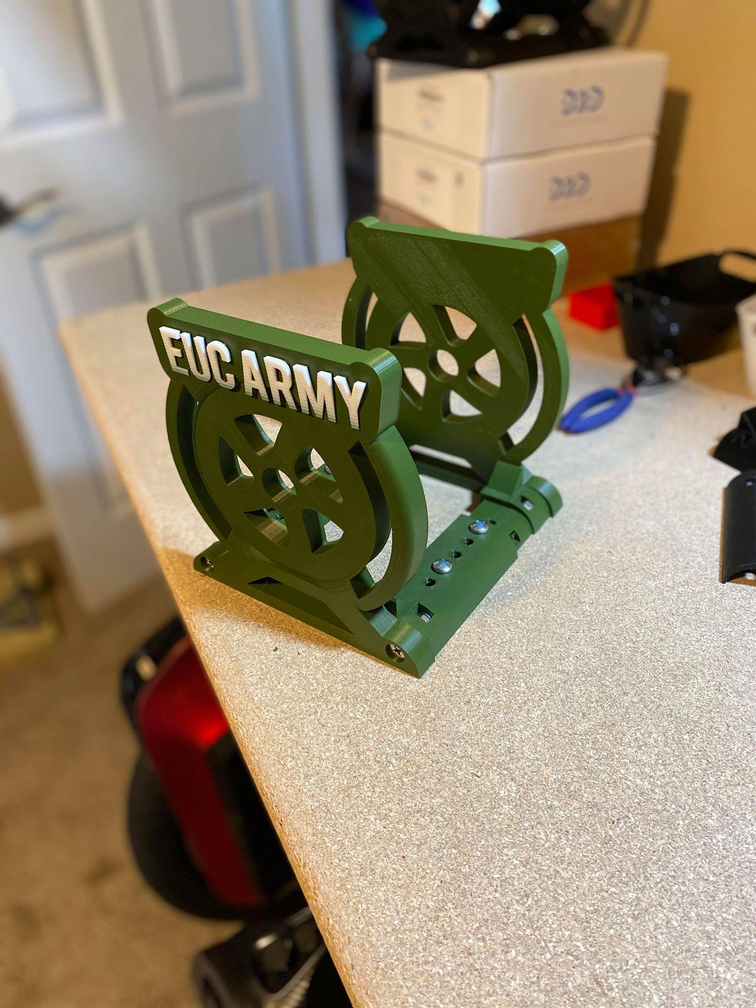 EUC Stand 3.9 Army Green Premiun Adjustable