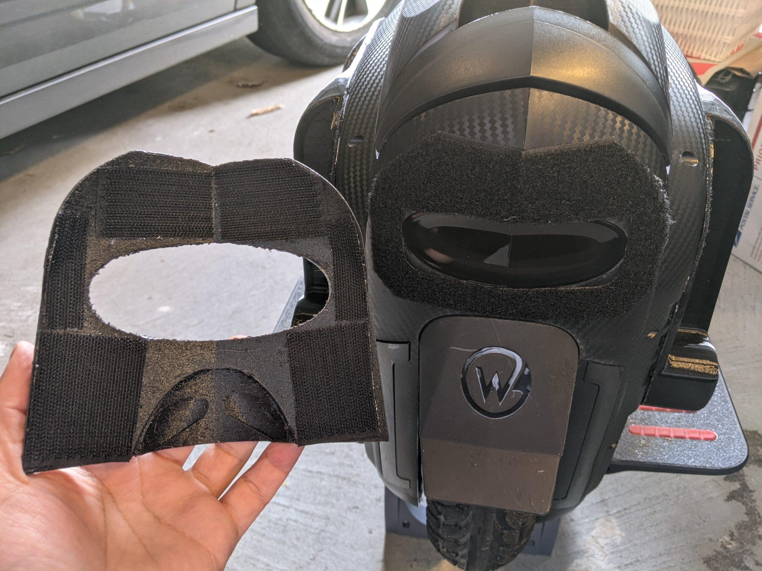 Gotway MSuper Rear Bumper FLEX with Mini Mudguard