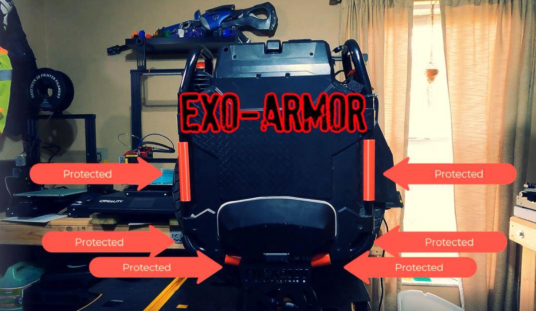 Exo Armor for Veteran Sherman Custom Order - Email duf@eucarmy.com to order