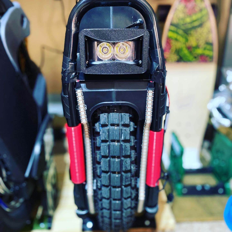 Sherman Full Face Headlight Helmet (FFHH)